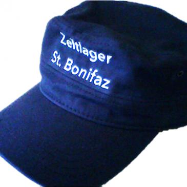 Zeltlager-Caps